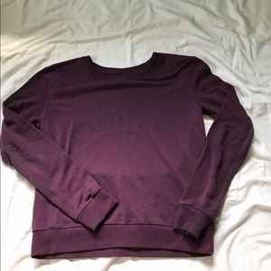 Lightweight Purple H&M Crewmeck